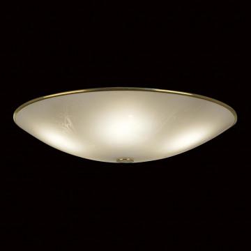 Потолочный светильник Citilux Лайн CL911603, 5xE27x75W, золото, белый, металл, стекло - миниатюра 2