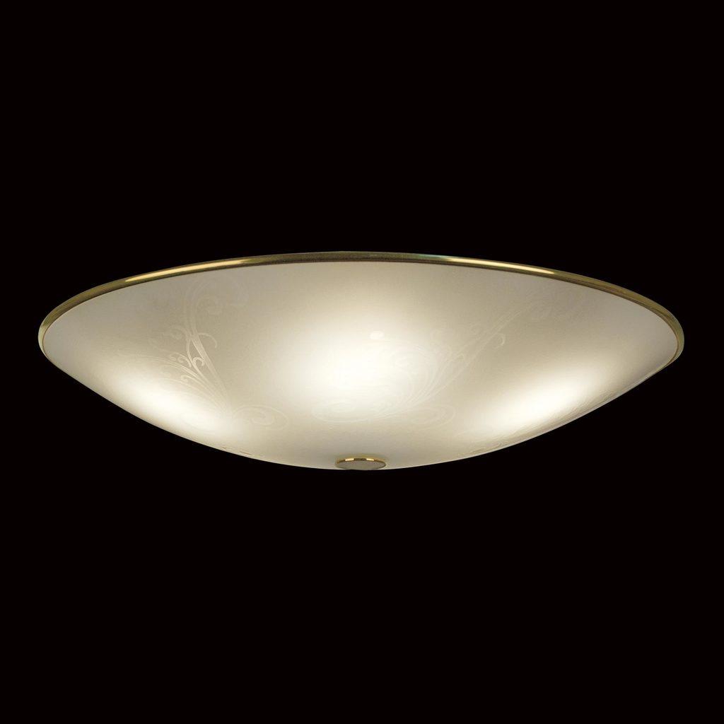 Потолочный светильник Citilux Лайн CL911603, 5xE27x75W, золото, белый, металл, стекло - фото 2