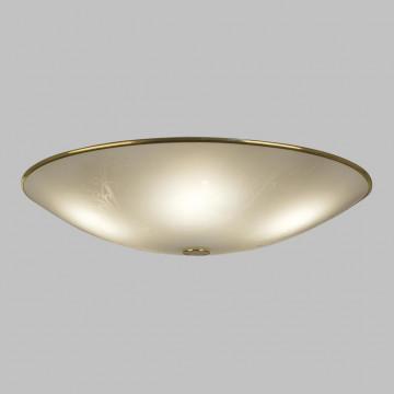 Потолочный светильник Citilux Лайн CL911603, 5xE27x75W, золото, белый, металл, стекло - миниатюра 3