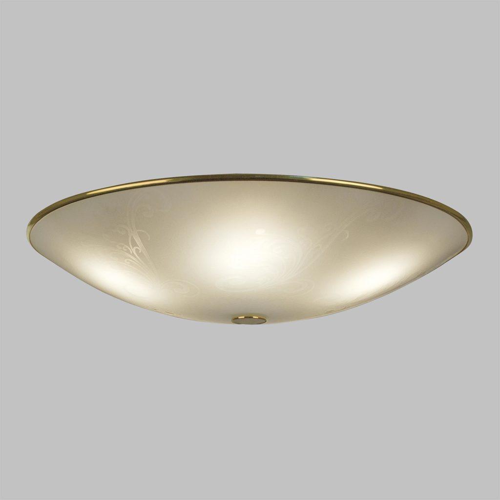 Потолочный светильник Citilux Лайн CL911603, 5xE27x75W, золото, белый, металл, стекло - фото 3