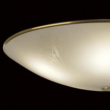 Потолочный светильник Citilux Лайн CL911603, 5xE27x75W, золото, белый, металл, стекло - миниатюра 4