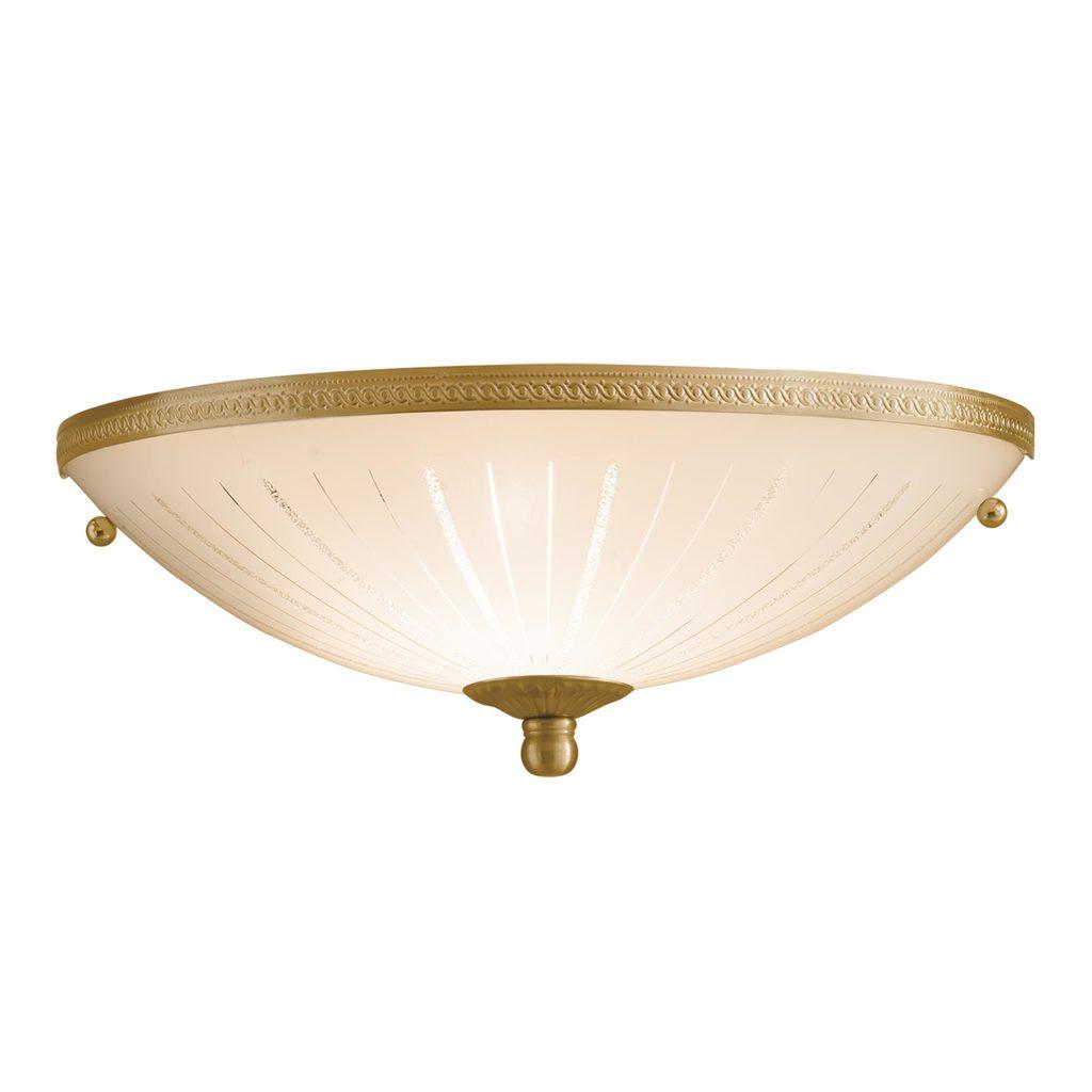 Потолочный светильник Citilux CL912301, 1xE27x100W, бронза, белый, металл, стекло - фото 1