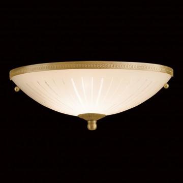 Потолочный светильник Citilux CL912301, 1xE27x100W, бронза, белый, металл, стекло - миниатюра 2