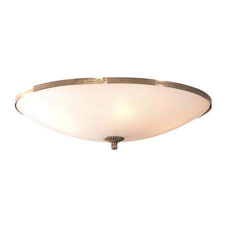 Потолочный светильник Citilux CL912500, 5xE27x75W, бронза, белый, металл, стекло