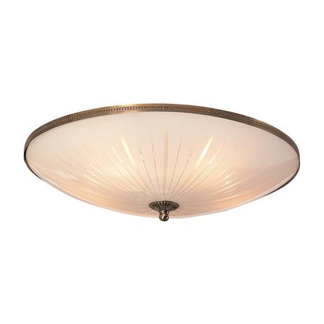 Потолочный светильник Citilux CL912501, 5xE27x75W, бронза, белый, металл, стекло