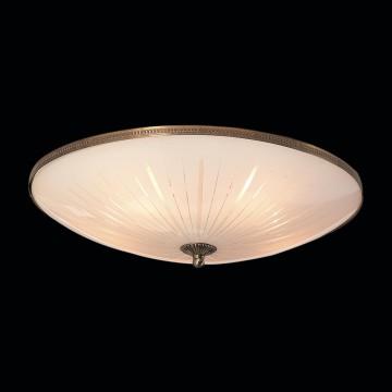 Потолочный светильник Citilux CL912501, 5xE27x75W, бронза, белый, металл, стекло - миниатюра 2