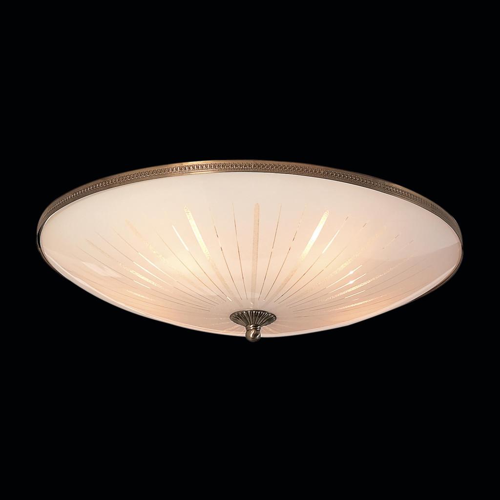 Потолочный светильник Citilux CL912501, 5xE27x75W, бронза, белый, металл, стекло - фото 2