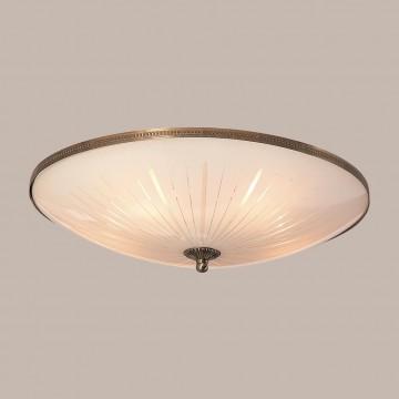 Потолочный светильник Citilux CL912501, 5xE27x75W, бронза, белый, металл, стекло - миниатюра 3