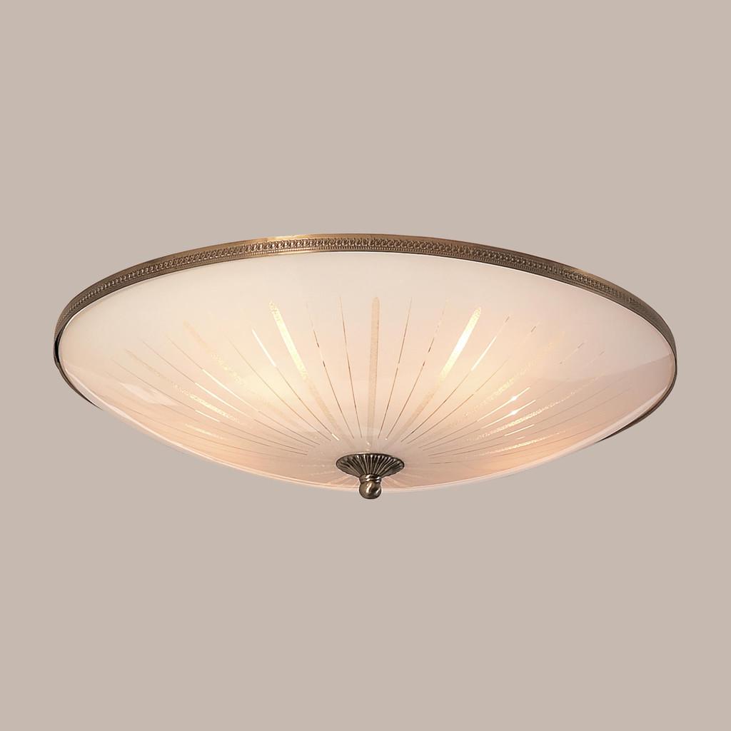 Потолочный светильник Citilux CL912501, 5xE27x75W, бронза, белый, металл, стекло - фото 3
