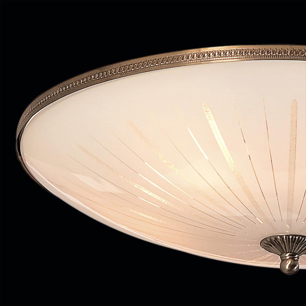 Потолочный светильник Citilux CL912501, 5xE27x75W, бронза, белый, металл, стекло - фото 4