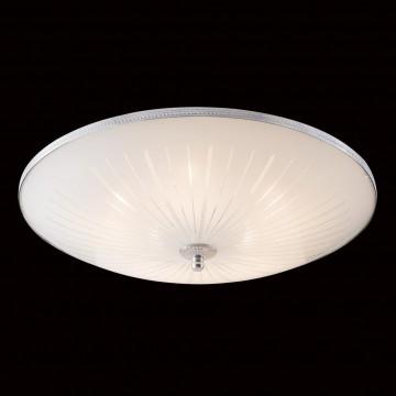 Потолочный светильник Citilux CL912511, 5xE27x75W, хром, белый, металл, стекло - миниатюра 2