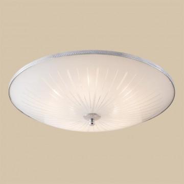 Потолочный светильник Citilux CL912511, 5xE27x75W, хром, белый, металл, стекло - миниатюра 3