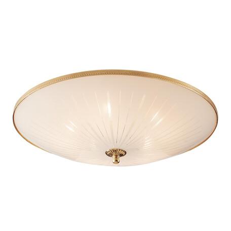 Потолочный светильник Citilux CL912521, 5xE27x75W, золото, белый, металл, стекло