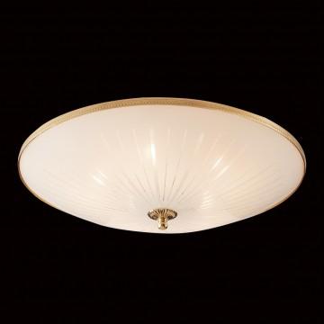 Потолочный светильник Citilux CL912521, 5xE27x75W, золото, белый, металл, стекло - миниатюра 2