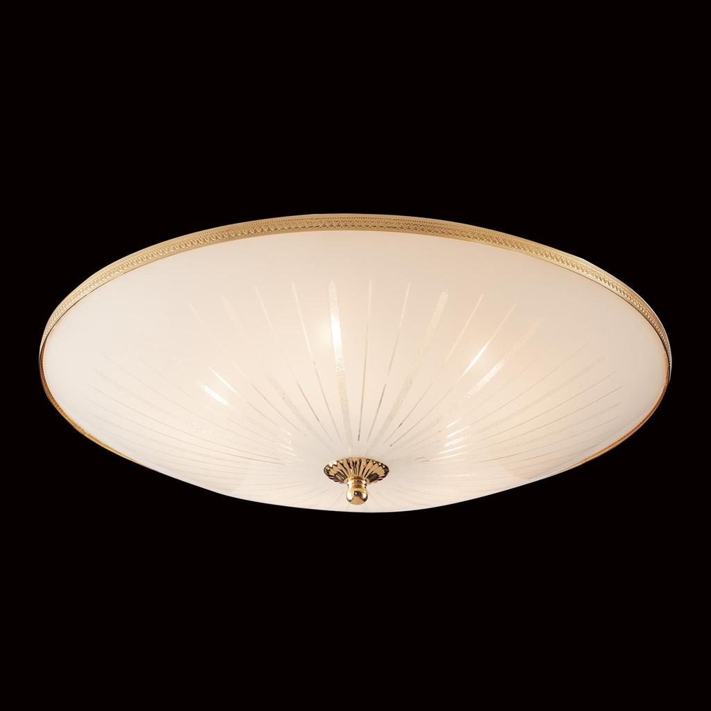 Потолочный светильник Citilux CL912521, 5xE27x75W, золото, белый, металл, стекло - фото 2