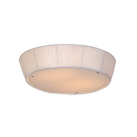 Потолочный светильник Citilux Гофре CL913141, 4xE27x75W, белый, металл, стекло, текстиль - миниатюра 1