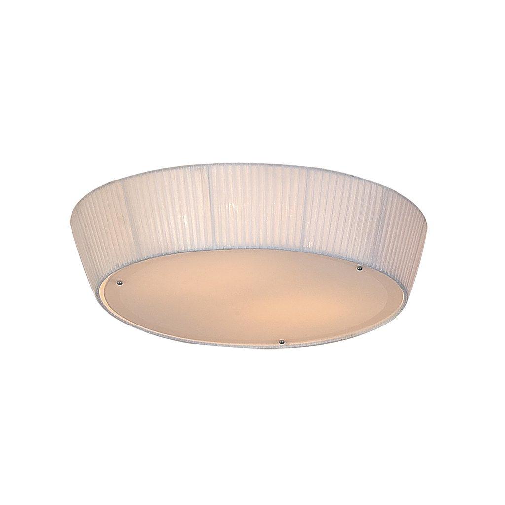 Потолочный светильник Citilux Гофре CL913141, 4xE27x75W, белый, металл, стекло, текстиль - фото 1