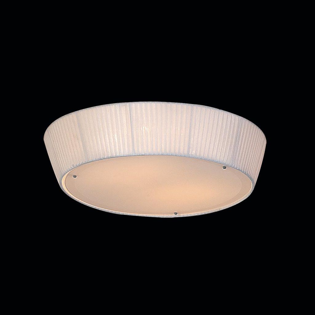 Потолочный светильник Citilux Гофре CL913141, 4xE27x75W, белый, металл, текстиль - фото 2