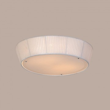 Потолочный светильник Citilux Гофре CL913141, 4xE27x75W, белый, металл, стекло, текстиль - миниатюра 3
