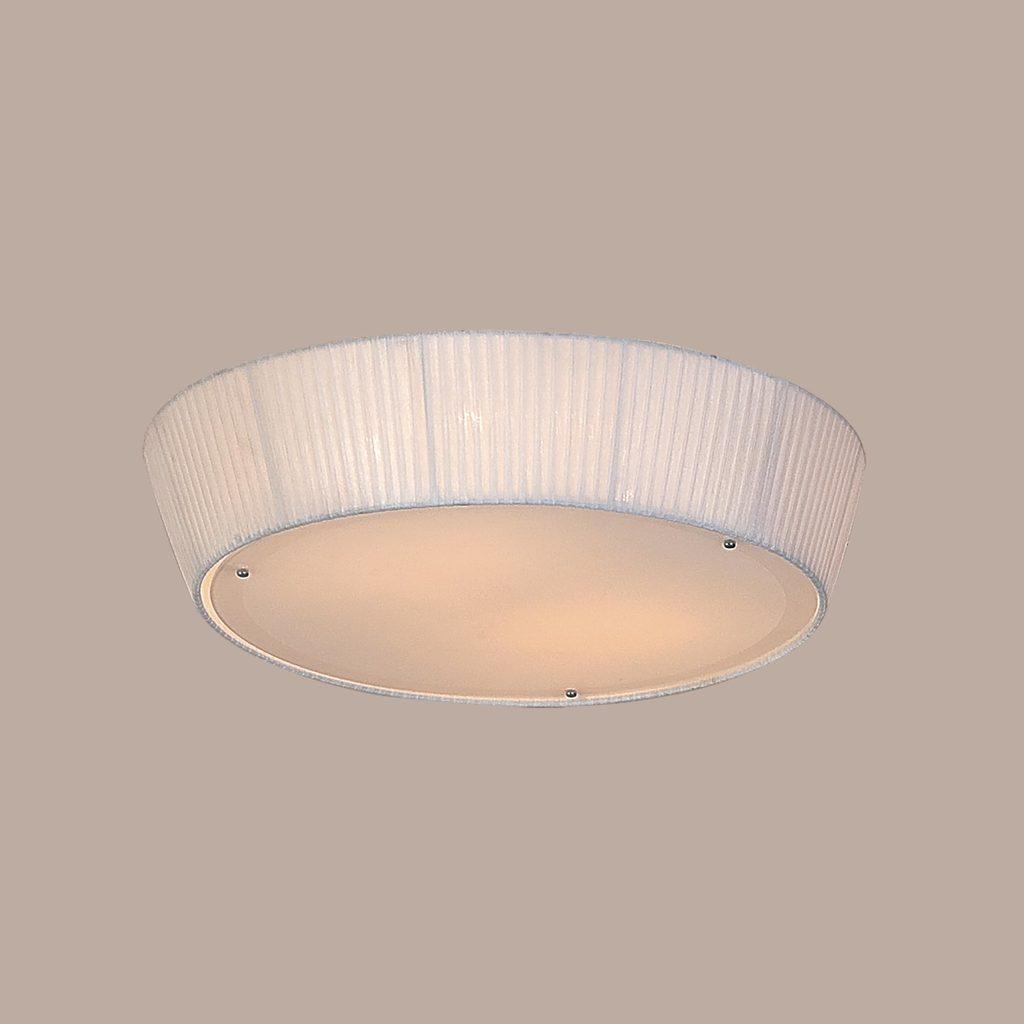 Потолочный светильник Citilux Гофре CL913141, 4xE27x75W, белый, металл, текстиль - фото 3