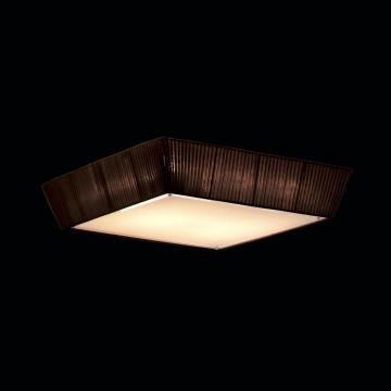 Потолочный светильник Citilux Гофре CL914142, 4xE27x75W, коричневый, металл, текстиль - миниатюра 2