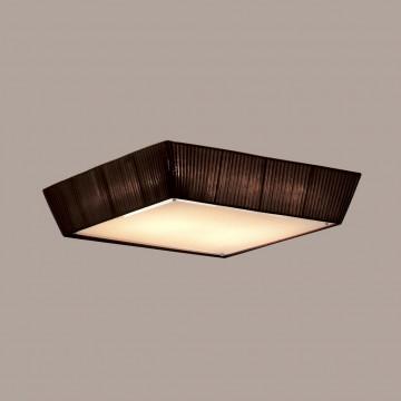 Потолочный светильник Citilux Гофре CL914142, 4xE27x75W, коричневый, металл, текстиль - миниатюра 3
