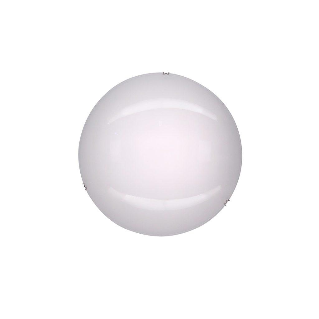 Потолочный светодиодный светильник Citilux Лайн CL917000, LED 8W 3000K 520lm, хром, белый, металл, стекло - фото 1