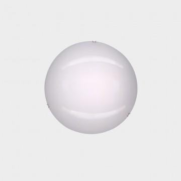 Потолочный светодиодный светильник Citilux Лайн CL917000, LED 8W 3000K 520lm, хром, белый, металл, стекло - миниатюра 2