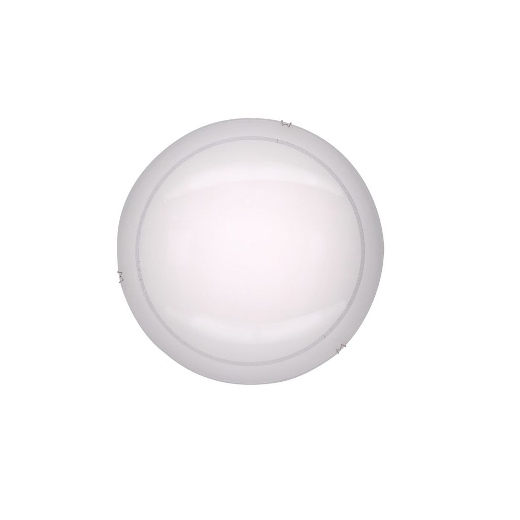 Потолочный светодиодный светильник Citilux Лайн CL917081 3000K (теплый), хром, белый, металл, стекло - фото 1