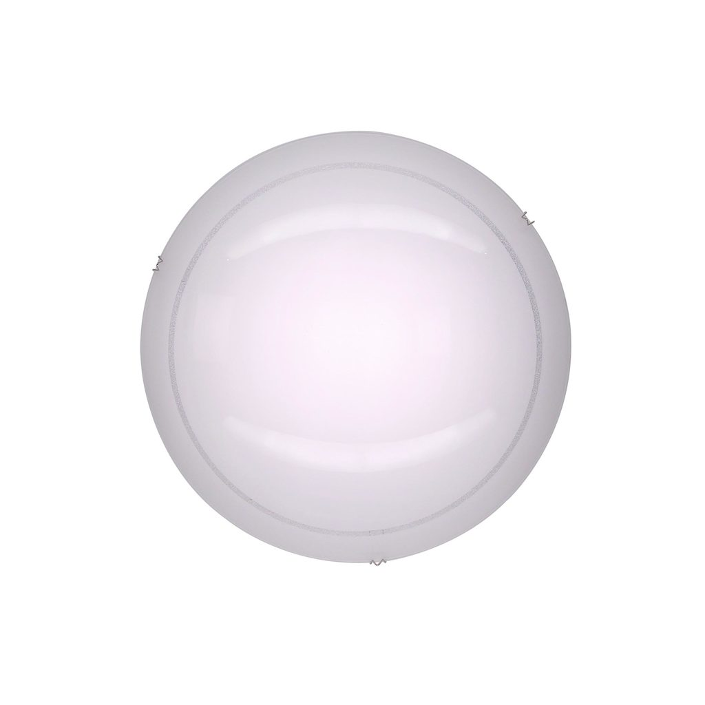 Потолочный светодиодный светильник Citilux Лайн CL918081, LED 12W 3000K 780lm, хром, белый, металл, стекло - фото 1