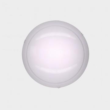 Потолочный светодиодный светильник Citilux Лайн CL918081, LED 12W 3000K 780lm, хром, белый, металл, стекло - миниатюра 2