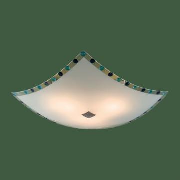 Потолочный светильник Citilux Конфетти CL931303, 3xE27x100W, хром, синий, голубой, металл, стекло - миниатюра 3