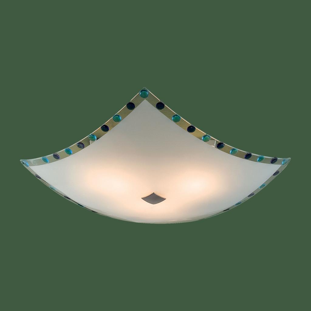 Потолочный светильник Citilux Конфетти CL931303, 3xE27x100W, хром, синий, голубой, металл, стекло - фото 3