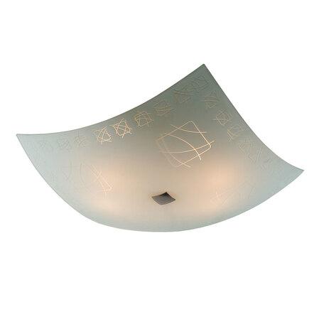Потолочный светильник Citilux Дина CL932005, 4xE27x100W, хром, белый, металл, стекло