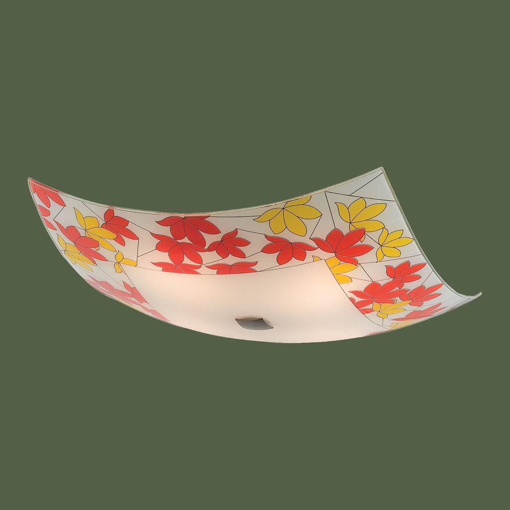 Потолочный светильник Citilux Осень CL932008, 4xE27x100W, бронза, разноцветный, металл, стекло - фото 3