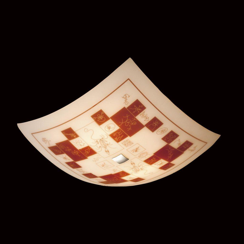Потолочный светильник Citilux Доминикана CL932020, 4xE27x100W, хром, оранжевый, металл, стекло - фото 2