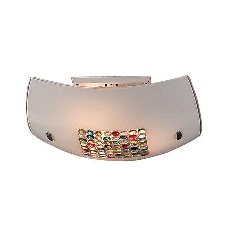 Потолочный светильник Citilux Конфетти CL933311, 3xE27x100W, хром, разноцветный, металл, стекло