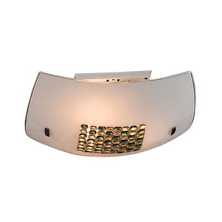 Потолочный светильник Citilux Конфетти CL933314, 3xE27x100W, хром, зеленый, желтый, разноцветный, металл, стекло
