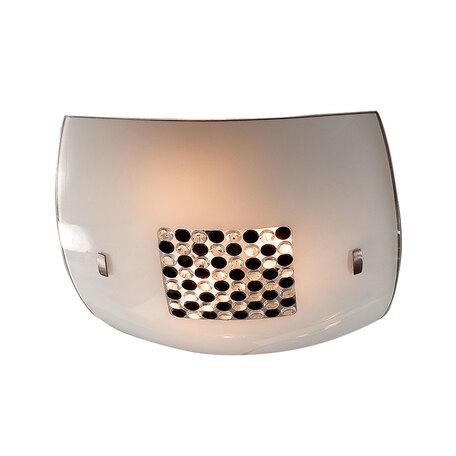 Потолочный светильник Citilux Конфетти CL933316, 3xE27x100W, хром, черный, черно-белый, металл, стекло