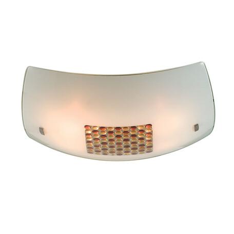 Потолочный светильник Citilux Конфетти CL934312, 4xE27x100W, хром, желтый, оранжевый, металл, стекло