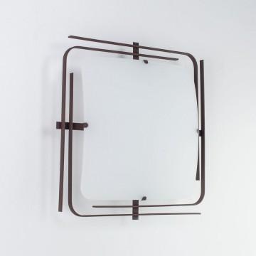 Потолочный светильник Citilux Спутник CL939201, 2xE27x100W, венге, белый, металл, стекло - миниатюра 4