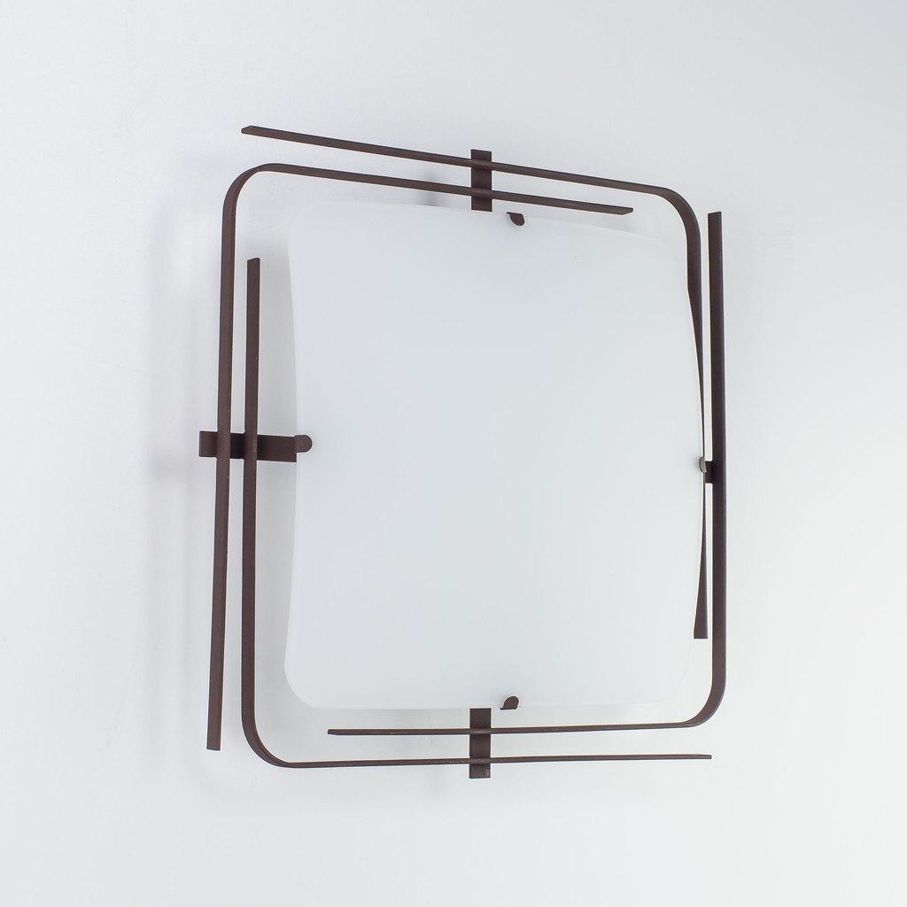 Потолочный светильник Citilux Спутник CL939201, 2xE27x100W, венге, белый, металл, стекло - фото 4