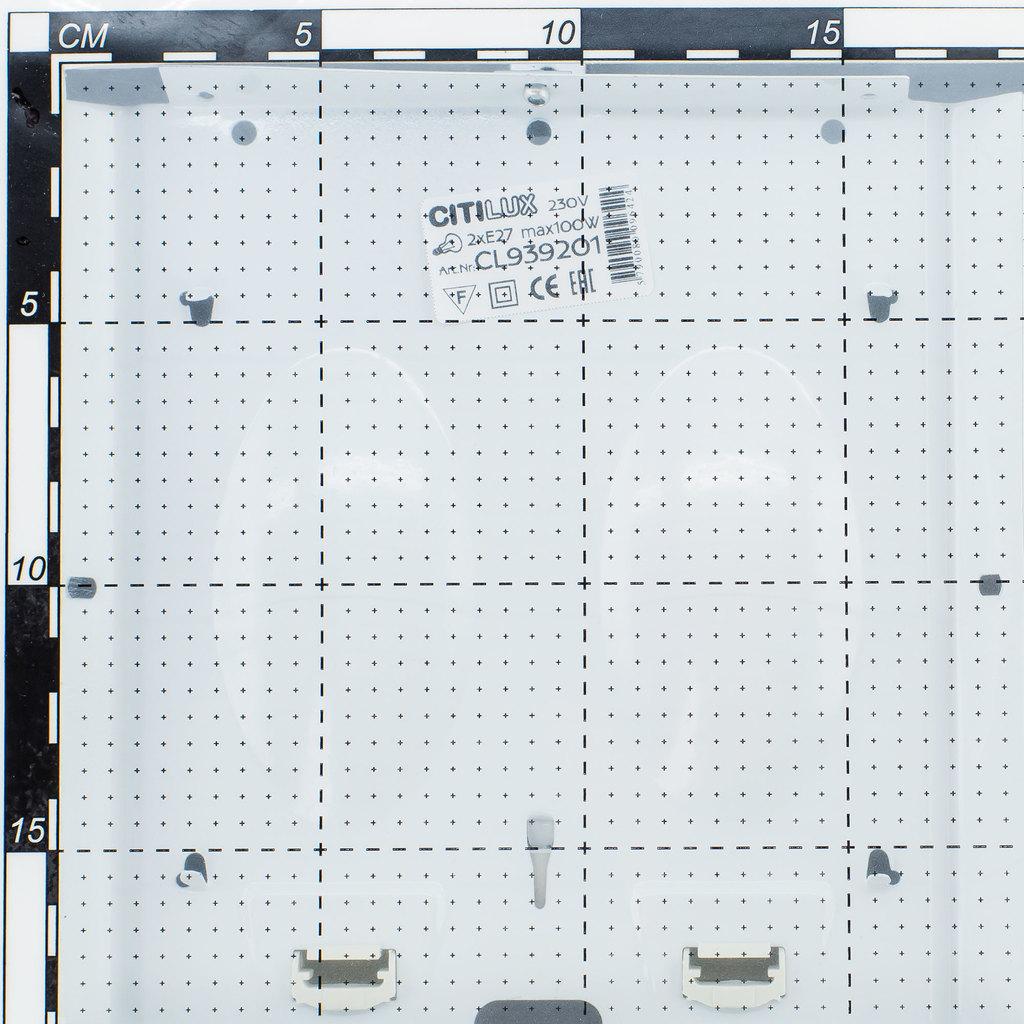 Потолочный светильник Citilux Спутник CL939201, 2xE27x100W, венге, белый, металл, стекло - фото 7