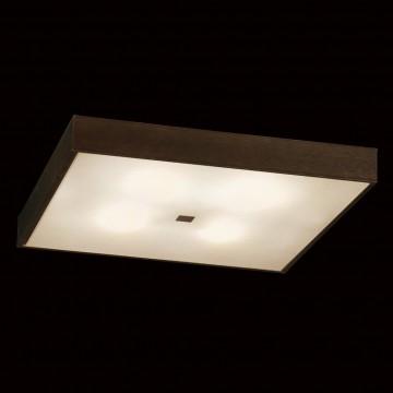 Потолочный светильник Citilux Кваттро CL940411, 4xE27x100W, белый, венге, дерево, стекло - миниатюра 2