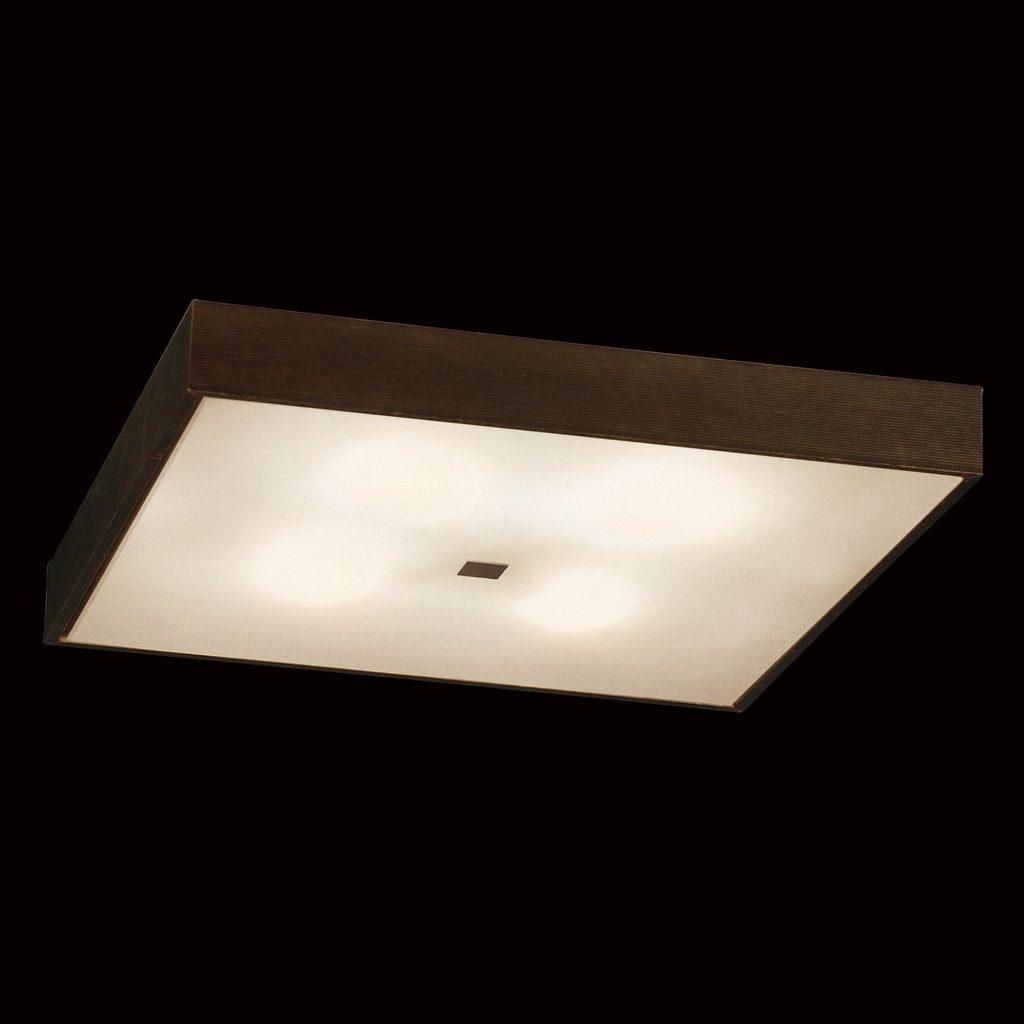 Потолочный светильник Citilux Кваттро CL940411, 4xE27x100W, белый, венге, дерево, стекло - фото 2