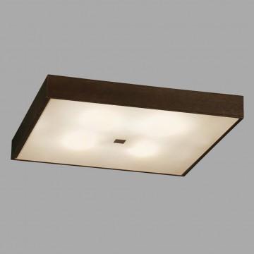 Потолочный светильник Citilux Кваттро CL940411, 4xE27x100W, белый, венге, дерево, стекло - миниатюра 3
