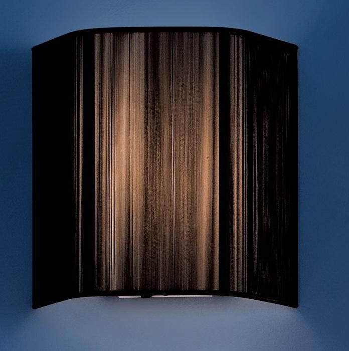 Настенный светильник Citilux CL923, CL936 CL923018W, 1xE14x60W, хром, черный, металл, текстиль - фото 1