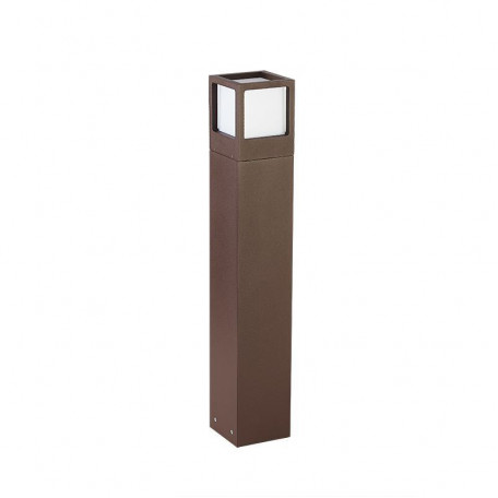 Садово-парковый светодиодный светильник L'Arte Luce Zor L80184.44, IP54 3000K (теплый), коричневый, белый, металл, пластик