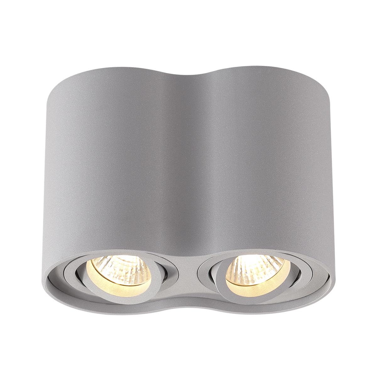 Потолочный светильник Odeon Light 3831/2C, серый, металл - фото 1