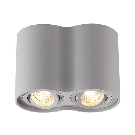 Потолочный светильник Odeon Light Pillaron 3831/2C, 2xGU10x50W, серый, металл